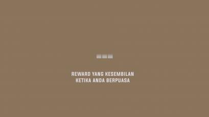 Reward Berpuasa Kesembilan